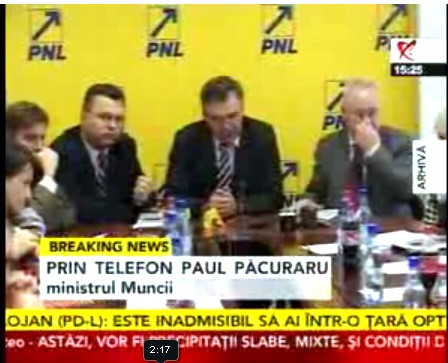 Paul Pacuraru Crin Antonescu si Puiu Hasotti
