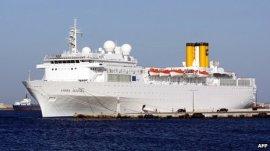 COSTA ALEGRA cu 1000 de oameni la bord, in deriva