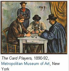 The card players Metropolitan Museum of Art