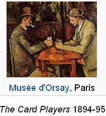 The card players Musee d'Orsay