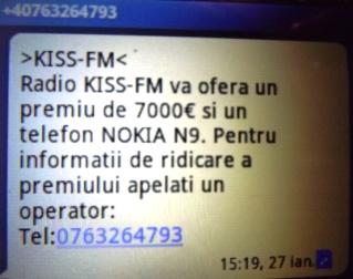 0763264793 +40763264793 KISS FM