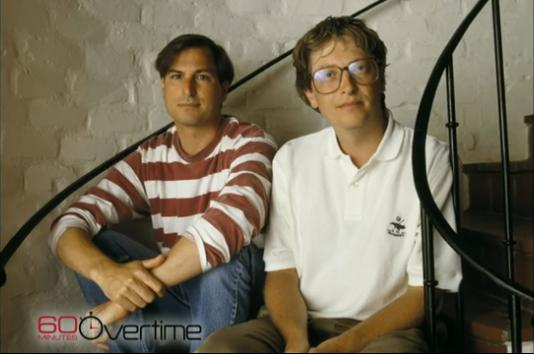 Bill Gates si Steve Jobs 1