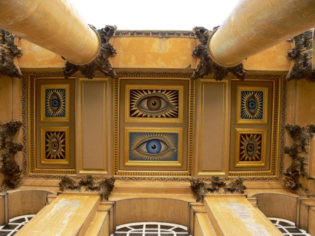 BLENHEIM PALACE, ochii pe tavan