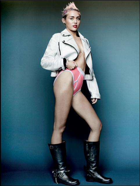 Miley Cyrus SHORTS PUNK VMAGAZINE V83